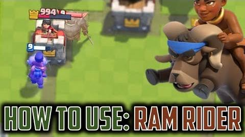 How to Use Ram Rider Clash Royale NEW CARD Analysis - Strong or Wrong??