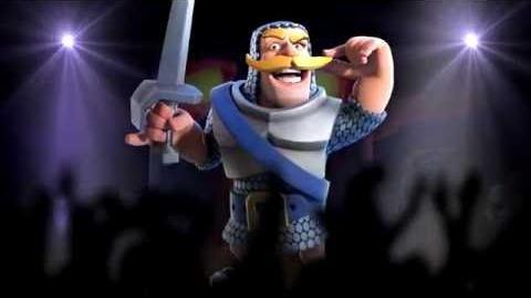 Clash Royale I am the Knight