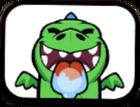 Baby Dragon Licking