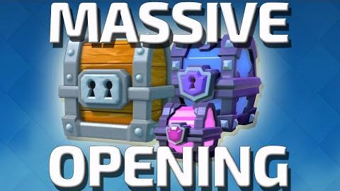 CLASH ROYALE MASSIVE CHEST OPENING ! 9000 GEMS