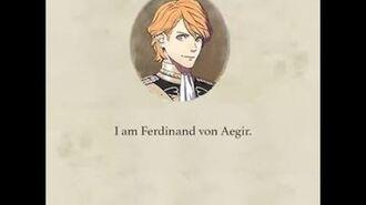 I am ferdinand von aegir