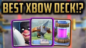 THE BEST NEW XBOW DECK FEAT. EXECUTIONER + TORNADO!? Clash Royale Deck Strategy