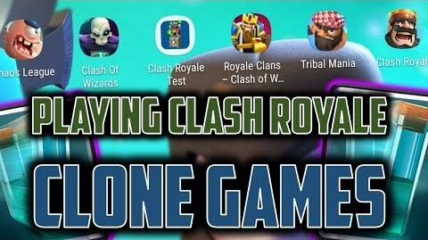 TOP 5 CLASH ROYALE RIP OFF GAMES I spent real life time on these... OTT