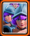 Drei Musketierinnen