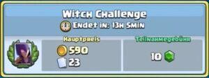 Hexe-Herausforderung
