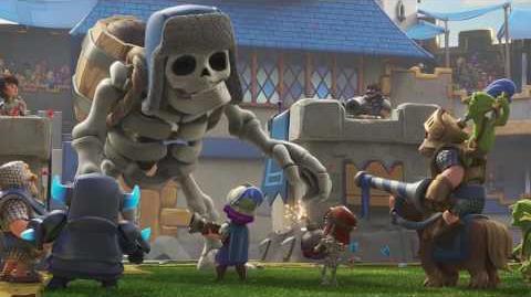 Clash Royale Giant Skeleton