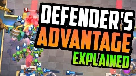 Defender's Advantage EXPLAINED - Clash Royale Advanced Strategy