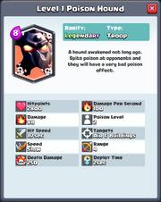 Level 1 Poison Hound FQ