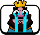Crying King