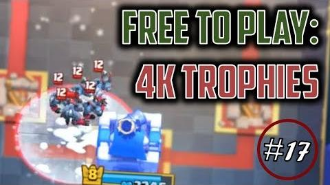 FOUR THOUSAND TROPHIES! Free to Play Series Episode 17