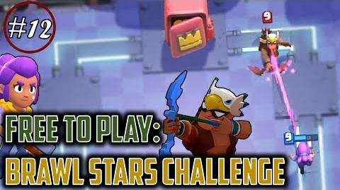 BRAWLS STARS CHALLENGE IN CLASH ROYALE EZ 9 WINS + TIPS TRICKS Free to Play Series Episode 12