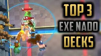 TOP 3 NEW EXECUTIONER DECKS Meta Analysis of Executioner and Tornado becoming OP Clash Royale
