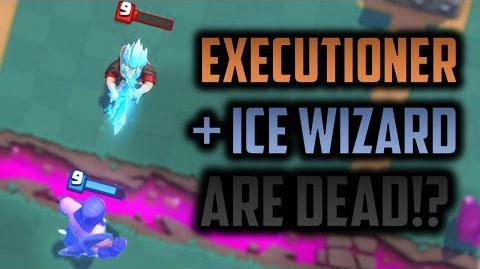 WHY ARE THESE SPLASHERS DEAD IN CLASH ROYALE? The fall of Ice Wizard and Executioner with Tornado