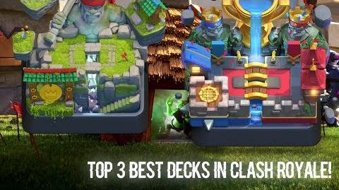 ★ Top 3 Best Decks in Clash Royale June 2017 ★ for Arena 7, 8, 9, 10, 11!
