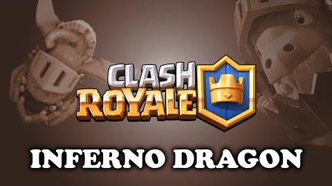 Clash Royale Inferno Dragon New Legendary!