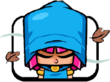 Archer with Hood