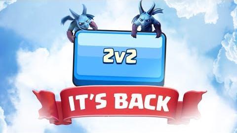 Clash Royale 2v2 is back!
