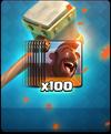 Schweinereiter-Angebot 100 Karten