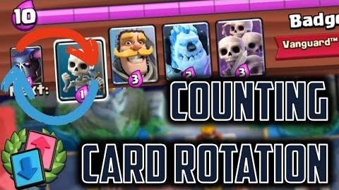 Counting Card Rotation Clash Royale Pro Tips to KNOW your OPPONENT'S HAND