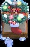 Prinzessinenturm-Weihnachtsskin