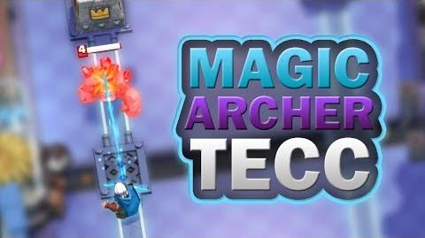 Clash Royale How to Use Magic Archer