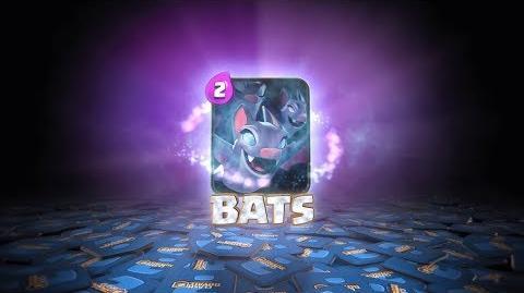 Clash Royale Introducing Bats