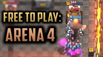 OUR BIGGEST ARENA 4 CHEST OPENING! Clash Royale Free 2 Play Series Episode 2