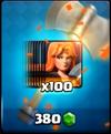 Walküre-Angebot 100 Karten