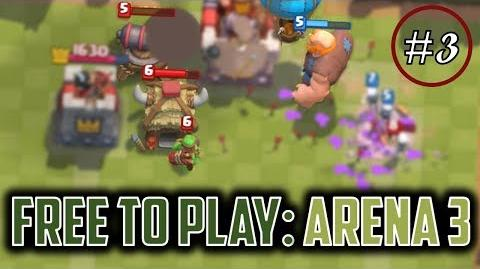 GOLD RUSH OP! Clash Royale Free to Play Series Episode 3