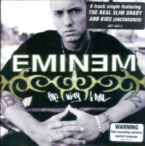 Eminem - The Way I Am CD cover