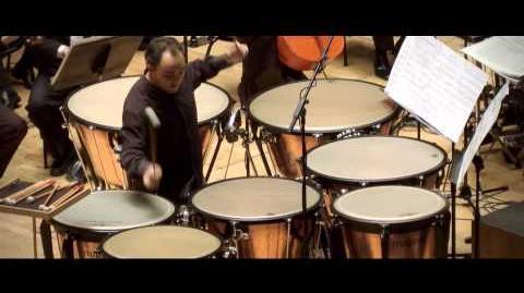 Philip Glass - Orquesta de Valencia Concierto Fantasía para Timbales