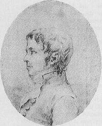 Drawing of Joachim Nikolas Eggert