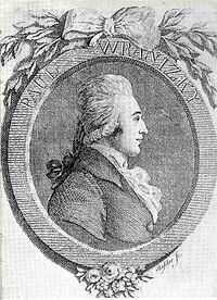Engraving of Paul Wranitzky