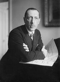 Photograph of Igor Stravinsky