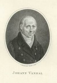 Portrait of Johann Baptist Vanhal