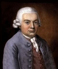 Painting of Carl Philipp Emanuel Bach