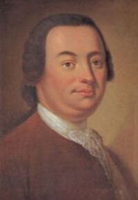 Painting of Johann Christoph Friedrich Bach