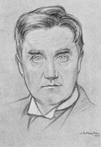 Drawing of Ralph Vaughan Williams by William Rothenstein
