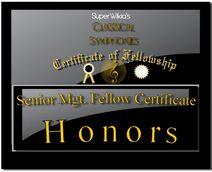 Classical Symphonies Senior Mgt Certificate