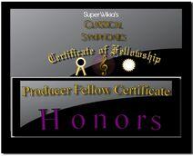 Classical Symphonies Producer Certificate