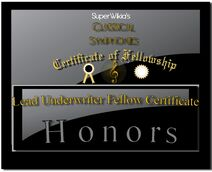 Classical Symphonies Lead Underwriter Certificate