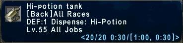 Hi-Potion Tank