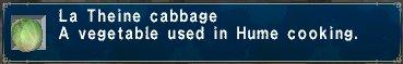 La theine cabbage