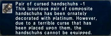 Cursed handschuhs 1