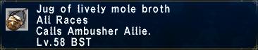 Lively Mole Broth