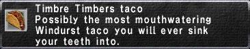 Timbre-Timbers-Taco