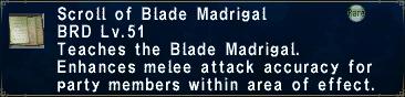 Blade Madrigal