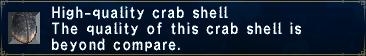 High-Quality Crab Shell