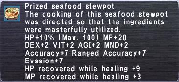 Prized Seafood Stewpot