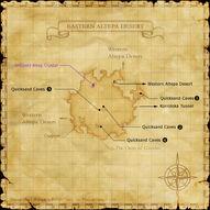 Eastern Altepa Desert Map